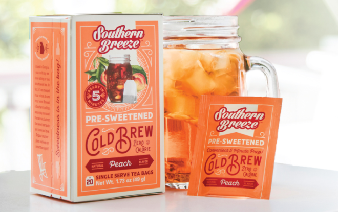 FREE Sample Southern Breeze Peach Cold Brew Sweet Tea (Request Yours