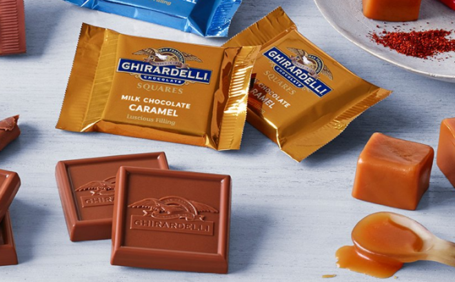 FREE Ghirardelli Milk Chocolate Caramel at Kroger Affiliate Stores (Load Now!)