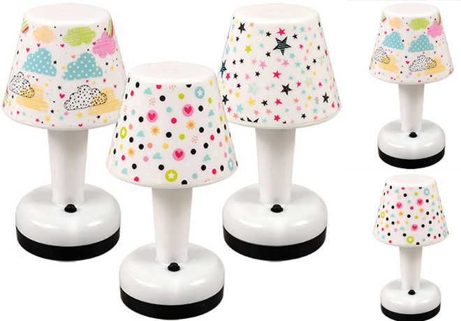 Dollar Tree: LED Printed Table Lamps 18-Pack ONLY $18 (Just $1 per Lamp) + FREE Pickup