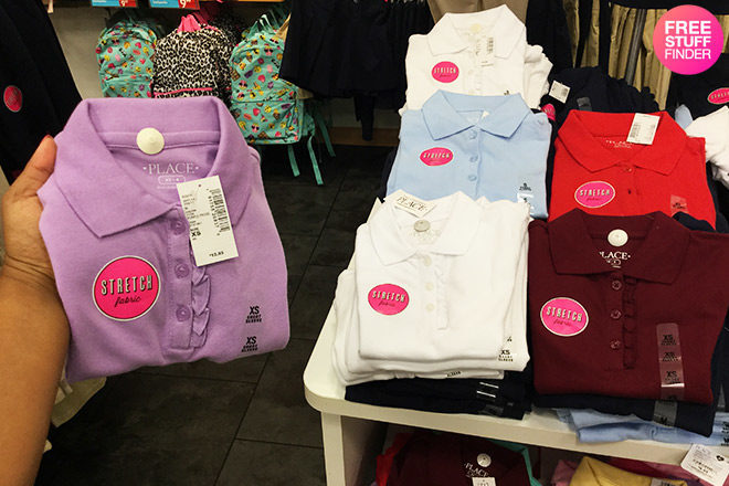 *HOT* Children's Place Uniform Polo Shirts for Only $4.99 + FREE Shipping (Reg $13)
