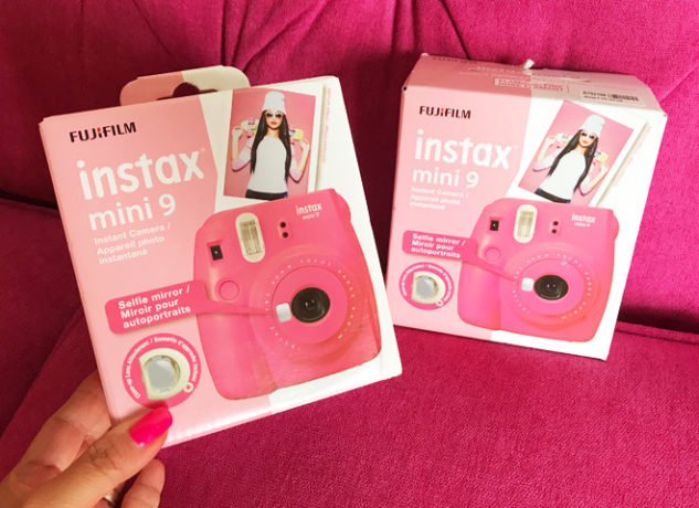 Daily GIVEAWAY Time! 2 Readers Win FREE Instax Mini 9 Camera - 72 Hour Giveaway!