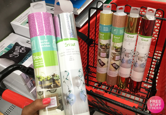Michaels: $10 Off $30 Cricut Accessories Coupon – Save on Vinyl