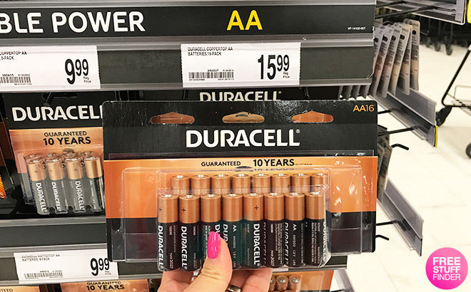 FREE Duracell 16-Pack Batteries After Rewards at Office Depot ($15.99 Value!)