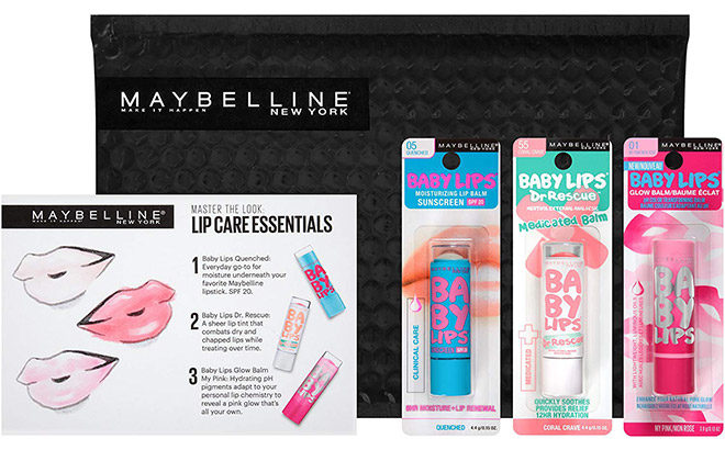 Winners for FREE Maybelline Lip Kit Giveaway Are…