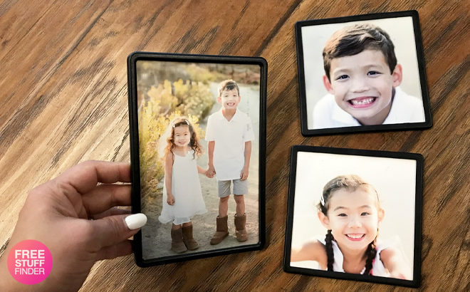 60% Off Framed Photo Magnets & Printbooks + FREE Pickup (JUST $2.80 - Regularly $7!)