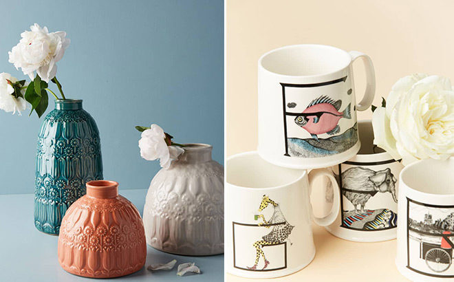 Nordstrom: Up to 65% Off Anthropologie Home Items + FREE Shipping