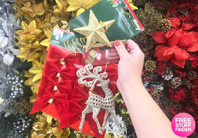 Dollar Tree: Holiday Decor & Stocking Stuffers ONLY $1 Each - Ornaments, Bows & More!