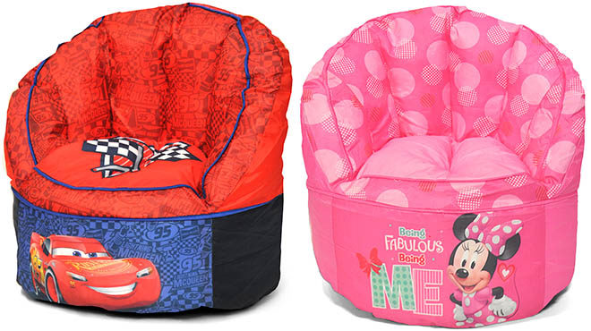 Disney Mickey Minnie Mouse Bean Bag Chairs From Only 1353 At Walmart