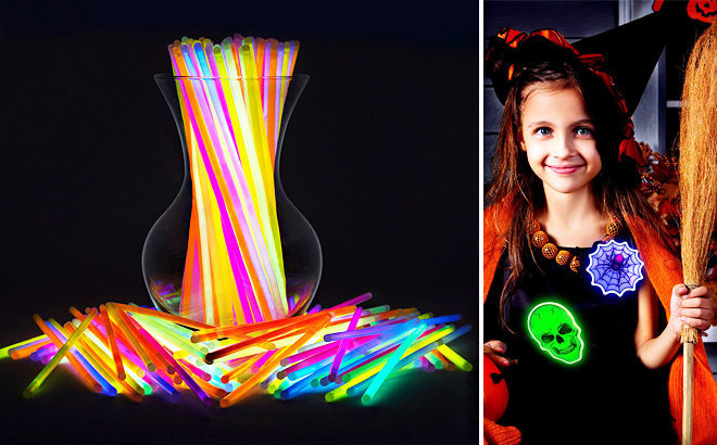 WOW! 300 Glow Sticks for JUST $15.99 on Amazon (Cute Halloween Decoration!)