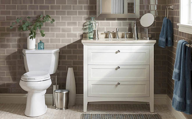 KOHLER Highline WaterSense 2-Piece Toilet Just $159 at Lowe's (Regularly $209)