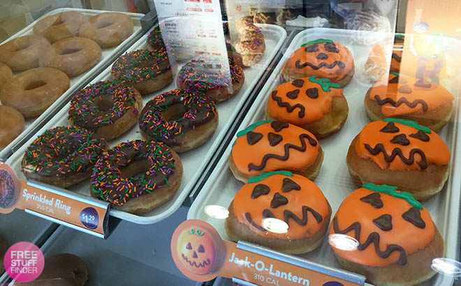 FREE ANY Krispy Kreme Doughnut - Just Wear Your Costume (Today ONLY!)