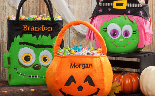 Halloween Personalized Baskets Starting at ONLY $12.99 on Walmart Online