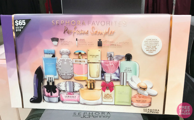 Giveaway Time! One Reader Wins a FREE Sephora Perfume Sampler ($65 Value)