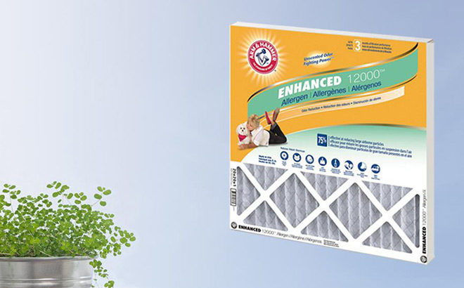 Arm & Hammer Air Filters 4-Pack Only $19.99 + FREE Shipping (Reg $34) - Today Only!