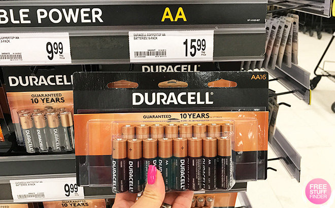 FREE Duracell Alkaline Batteries after Rewards at Office Depot - In-Store & Online!