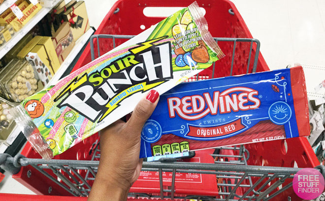 Sour Punch Rainbow Straws & Red Vines JUST 35¢ at Target (Just Use Your Phone!)