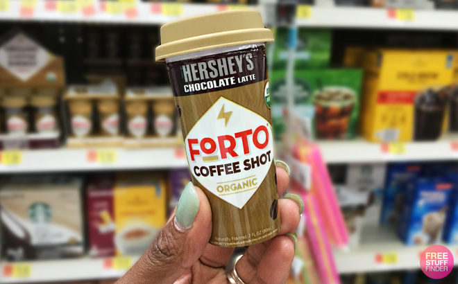 FREE Forto Coffee Shot at Walmart - Just Use Your Phone!