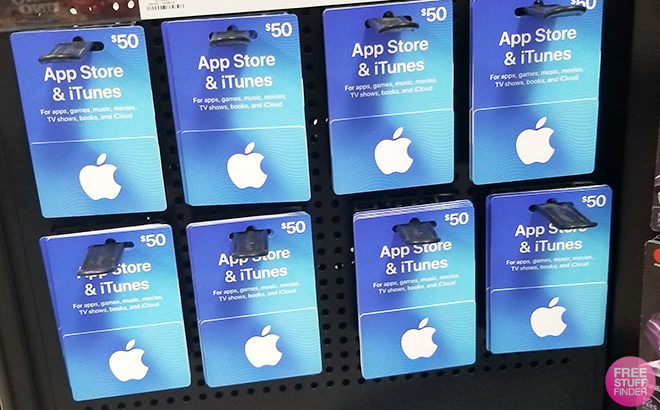 $50 App Store & iTunes Gift Card Only $40 (Email Delivery)
