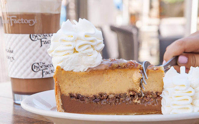 FREE Cheesecake Factory Slice (Today Only Starting at 11:30AM) - First 40,000!