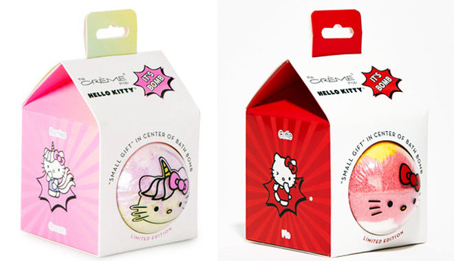 Hello Kitty Bath Bombs for ONLY $5 (Reg $11) at Hollar - Today Only!
