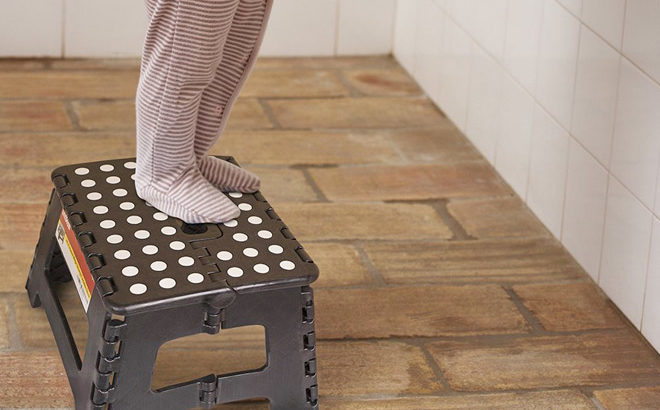 WOW! Collapsible Step Stool for JUST $2.50 at Hollar (Regularly $5) - Very Practical!