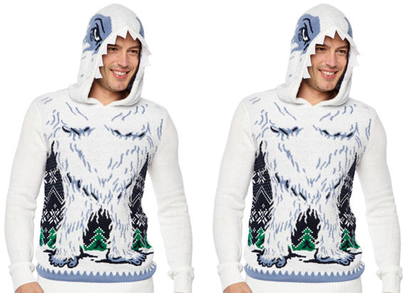 Ugly Christmas Snowman Graphic Hoodie ONLY $15 (Reg $68) + FREE Shipping
