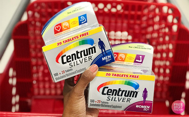 *HOT* Centrum Vitamins for JUST 74¢ Each (Regularly $10) at Target - Print Now!