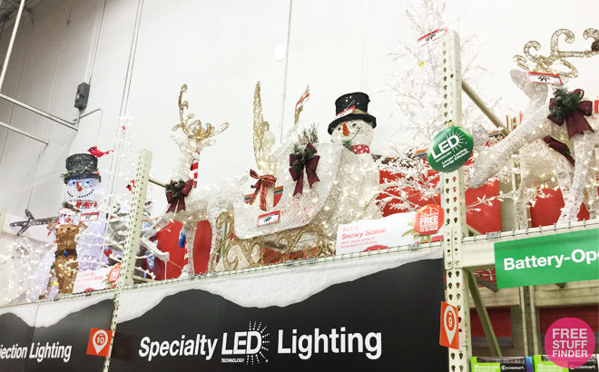 Up to 75% Off Outdoor Christmas Decorations at Home Depot - Starting at 97¢!