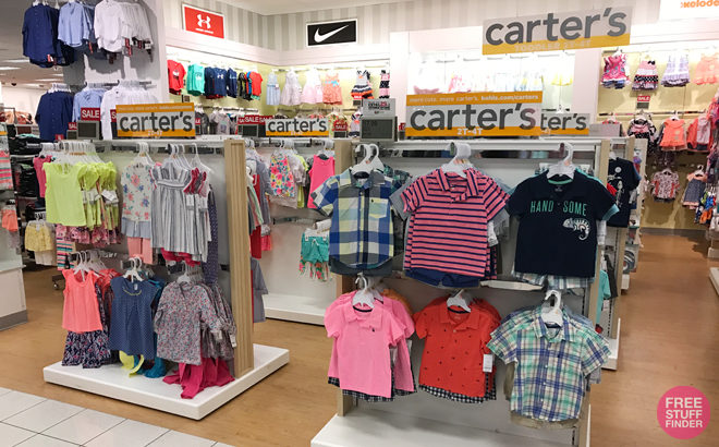 Up To Extra 40% Off Carter's Clearance Sale (Starting at $2.39) Today & Online Only!