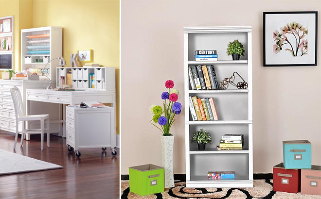 Up to 58% Off Home Furniture - Hampton Bay Bookcase JUST $46 + FREE Shipping!