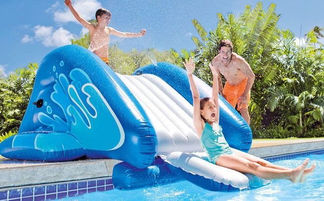 Intex Swimming Pool Water Slide Accessory ONLY $60.99 (Regularly $150)