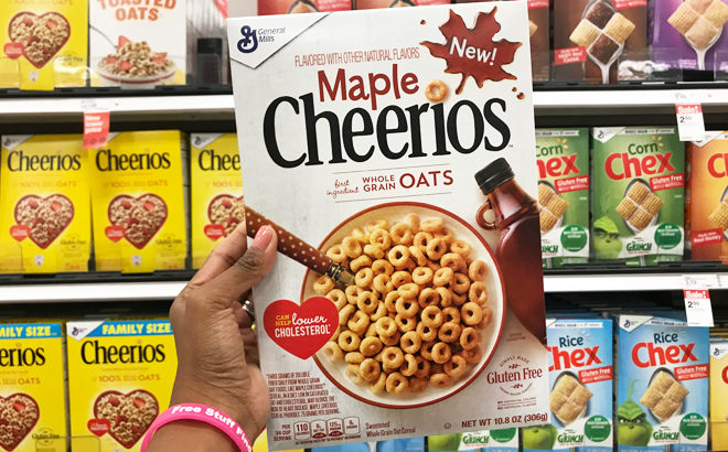 Maple Cheerios Cereal for JUST $1.09 at Target (Regularly $3)