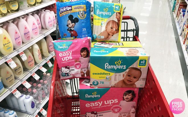 Pampers Super Pack Diapers JUST $6.70 at Target (Regularly $25)