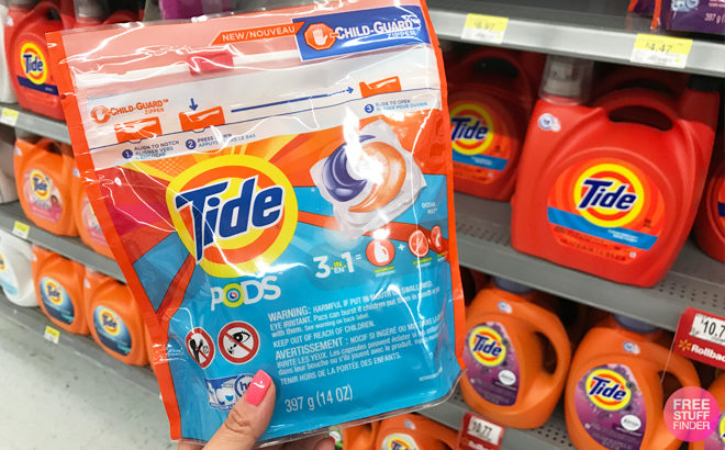 Tide Pods 12-Count JUST $1.97 (Regularly $4) at Walmart – Print Coupon Now!