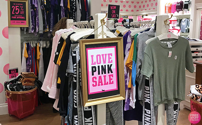 Victoria's Secret PINK Extra 25% Off Bras & Apparel (Ends Tonight!)