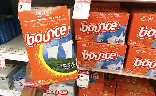 Bounce Dryer Sheets 240-Pack JUST $5.69 Each (Regularly $9.19) at Target