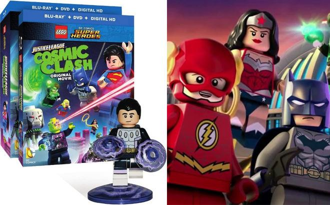 LEGO Justice League Cosmic Clash Movie Starting From $5.99 (Reg $13) + FREE Pickup