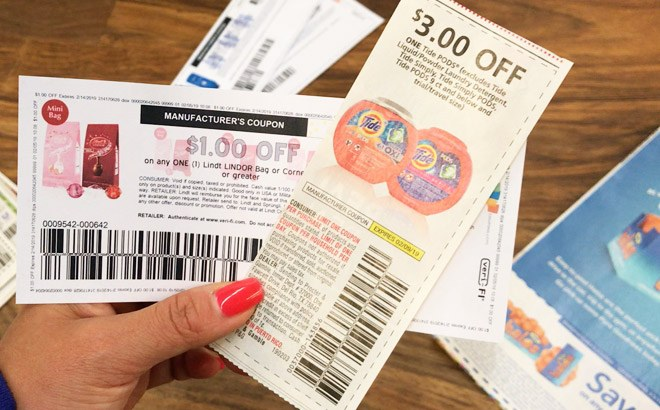 manufacturer coupons from california