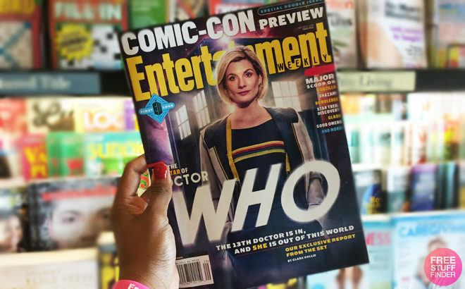 FREE Entertainment Weekly Magazine Subscription (1-Year Subscription!)