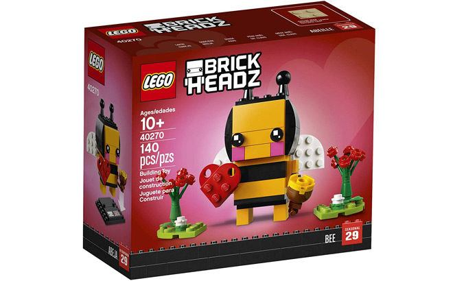 LEGO BrickHeadz Valentine's Bee Building Kit ONLY $5.99 (Reg $10) - Best Price Ever!