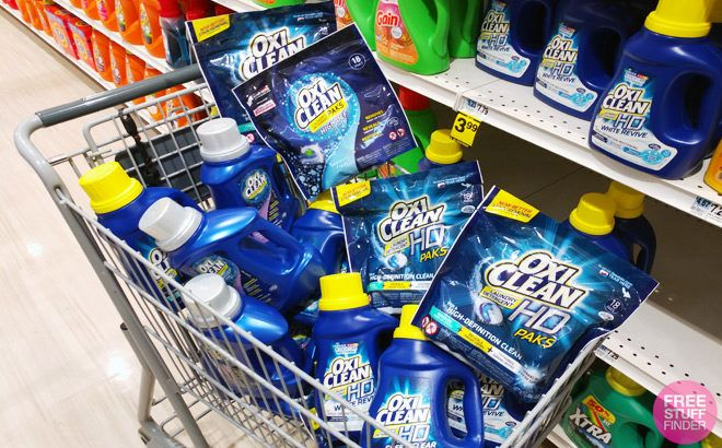 Laundry Related Product Deals This Week (2/10 – 2/16) Save on OxiClean, Downy, Purex