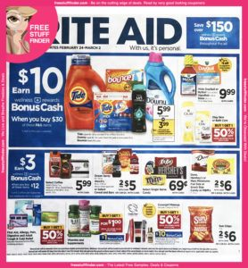 *HOT* Rite Aid Ad Preview (Week 2/24 – 3/2)