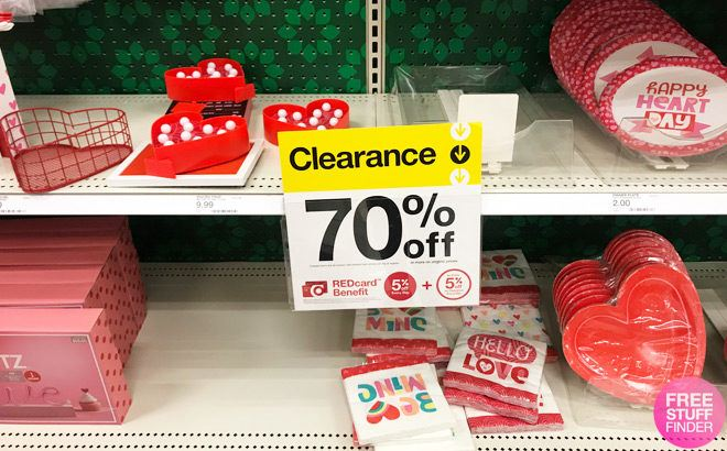 *HOT* Up to 70% Off Valentine's Day Clearance Items at Target
