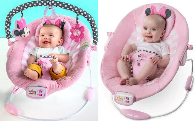 Disney Minnie Mouse Bouncer ONLY $35 + FREE Shipping (Regularly $69)