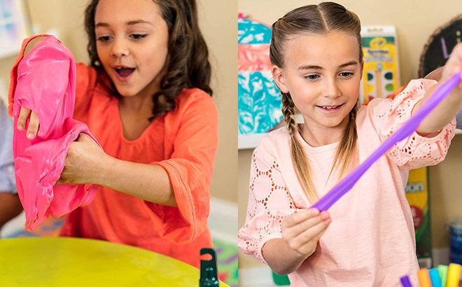 Crayola Model Magic Slime Party Kit JUST $7 (Reg $20) on Amazon