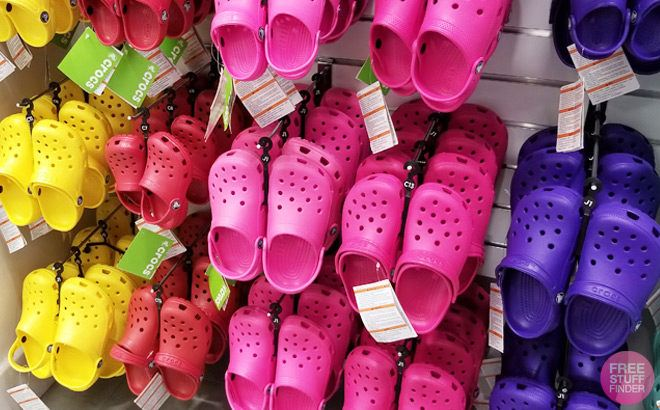 4fa48d9ca Crocs Shoes for the Family 50% Off (Starting at JUST  12) - Through