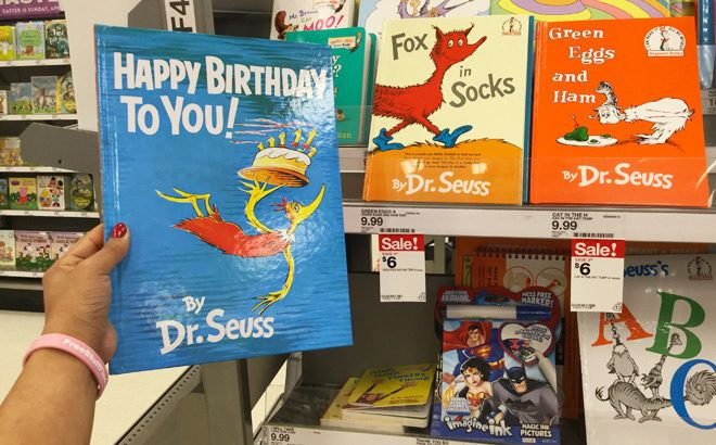 FREE! Dr. Seuss's Birthday Event at Target (March 2nd Only 10AM - 11:30AM!)