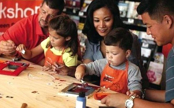 FREE Clock & Storage Tray Kids Workshop at Home Depot (March 2nd Only!)