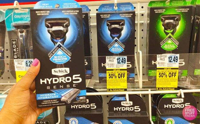 Schick Hydro Sense Razors ONLY 99¢ (Regularly $10.49) at Rite Aid