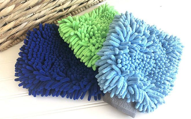 Microfiber Scratch-Free Duster & Wash Mitt JUST $6 (Regularly $17)